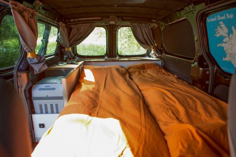bed in camper