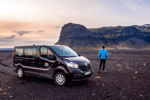 rental camper in Iceland