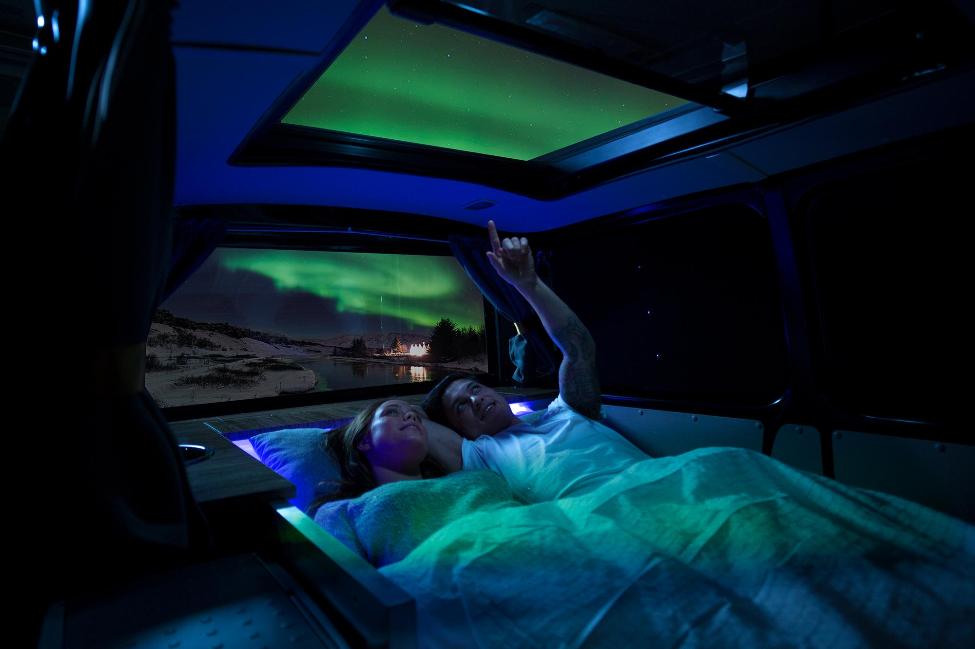 Aurora explorer - 4x4 northern lights camper