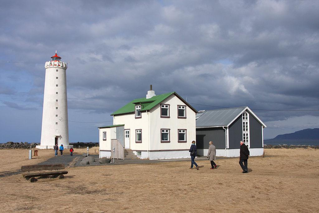 Grótta - lighthouse in Reykjavík