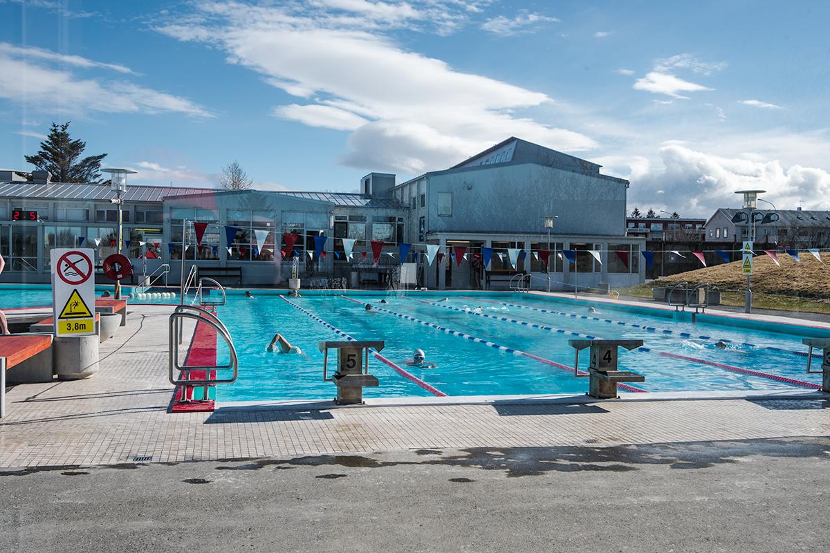 swimming pool in iceland - vesturbæjarlaug