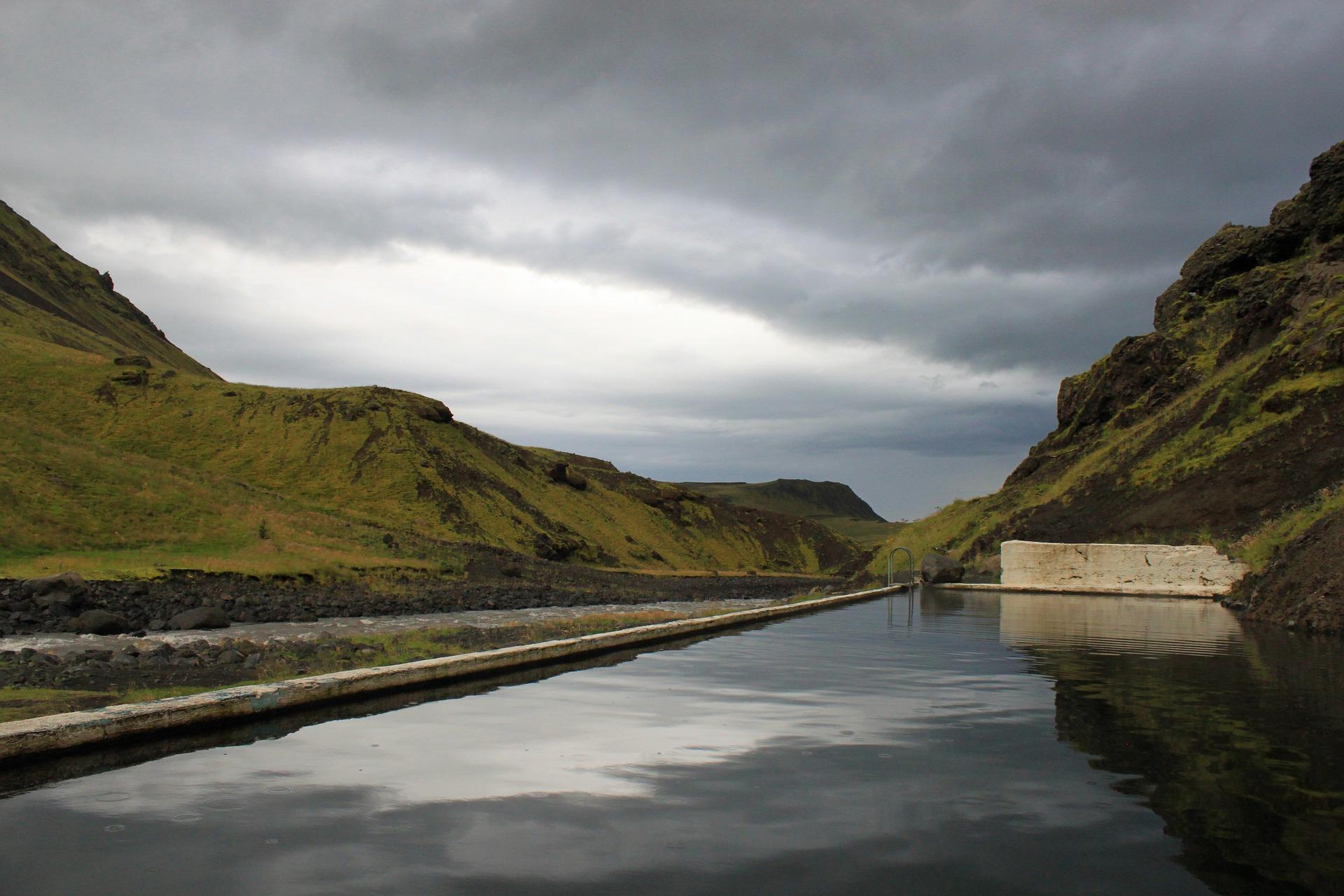 Seljavallalaug outoor pool, Iceland