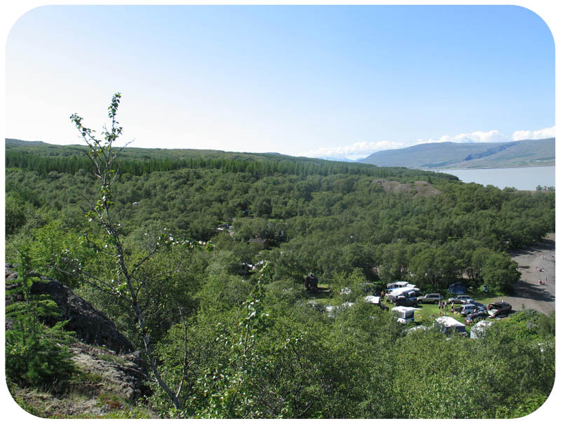 Hallormsstaðaskógur campsites