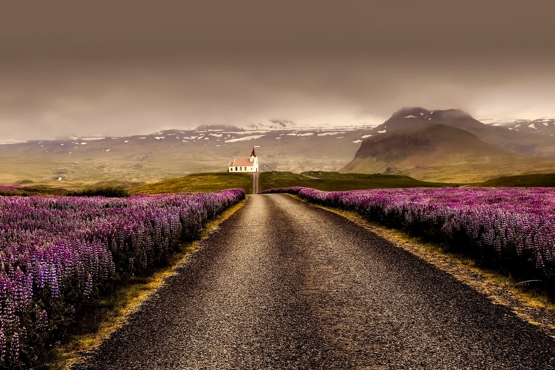 road, Iceland,