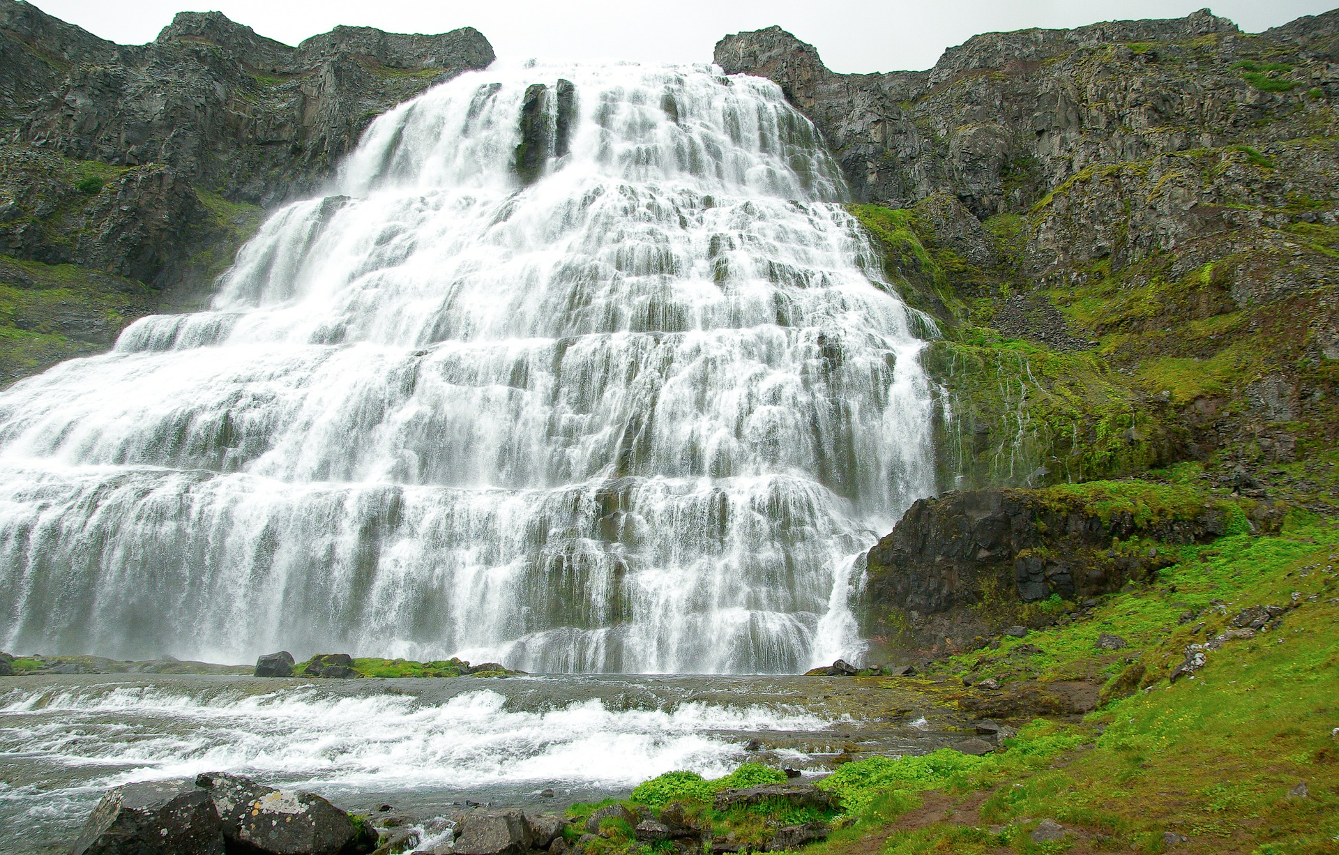 Dynjandi waterfall, Westfjords Iceland