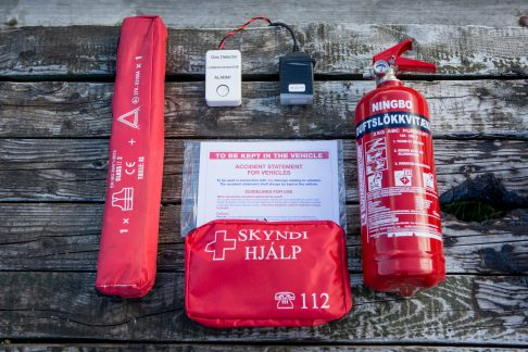 camper emergency kit