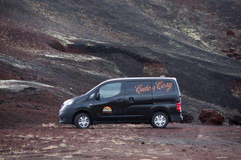 camper in Iceland