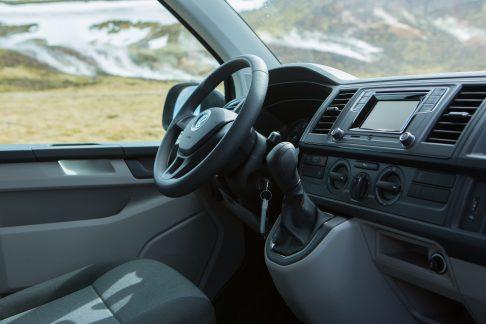 steering wheel in camper