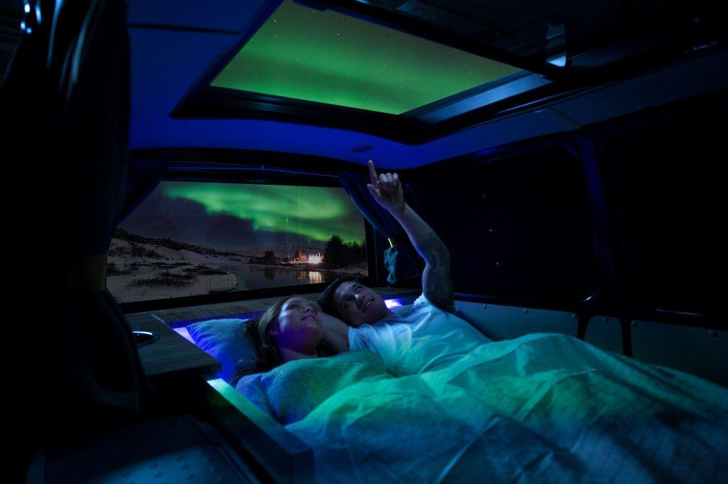 Aurora explorer camper for rent - interior
