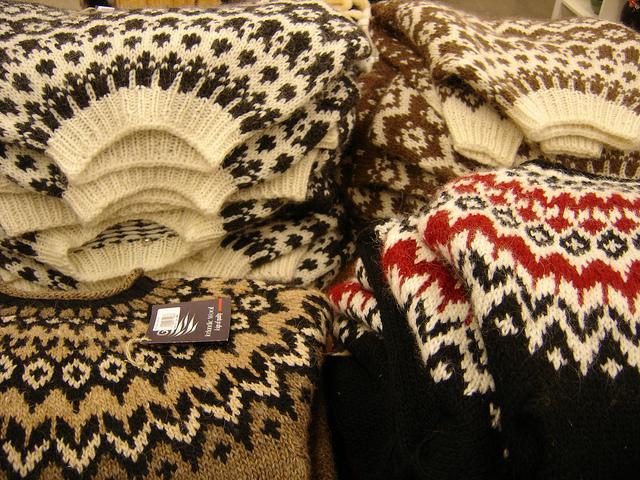 Icelandic lopapeysa sweater