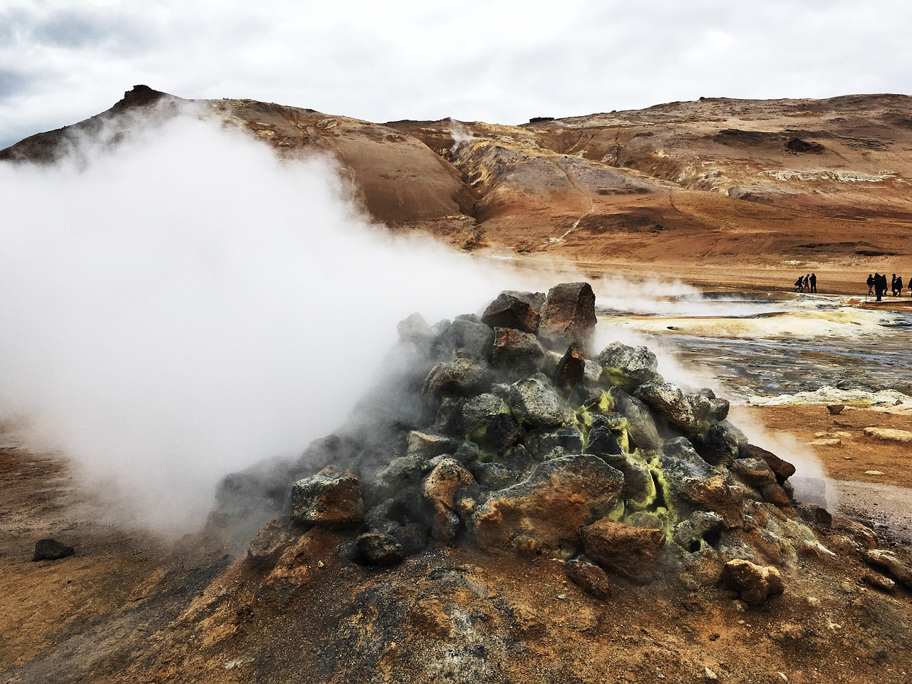 Iceland geothermal area
