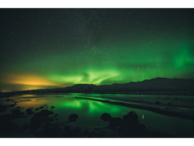 Camping in Iceland to watch the aurora