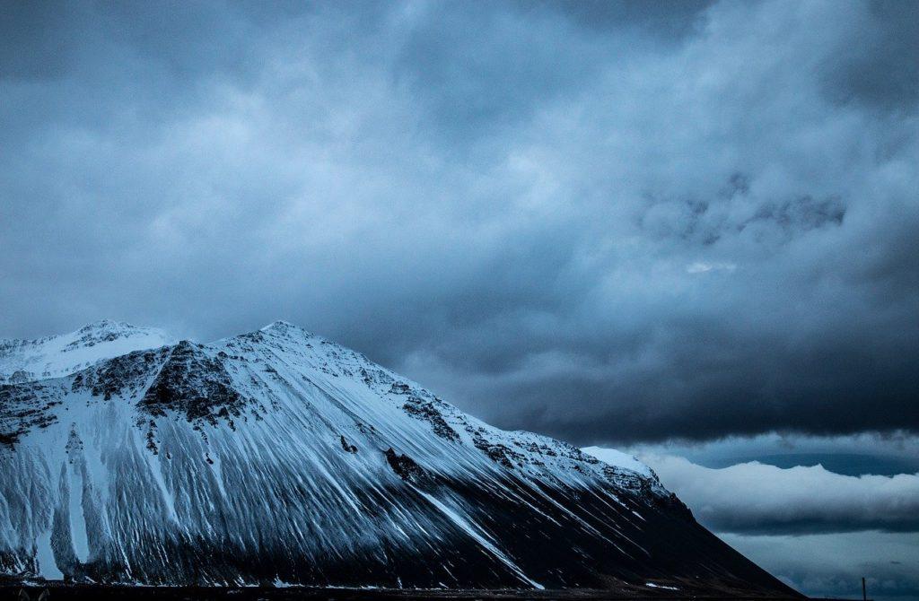 Borgarnes Hafnarfjall mountain