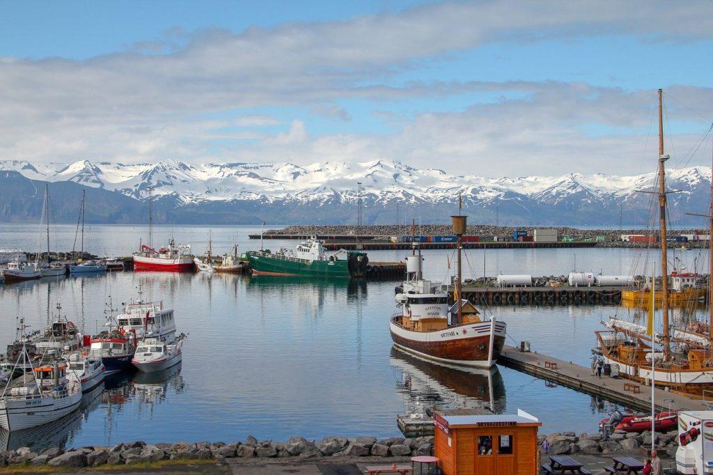 Husavík in iceland