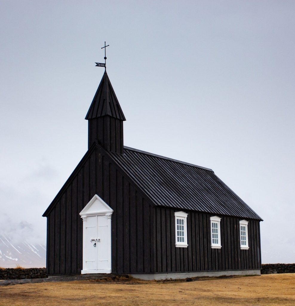 Buðir church Iceland